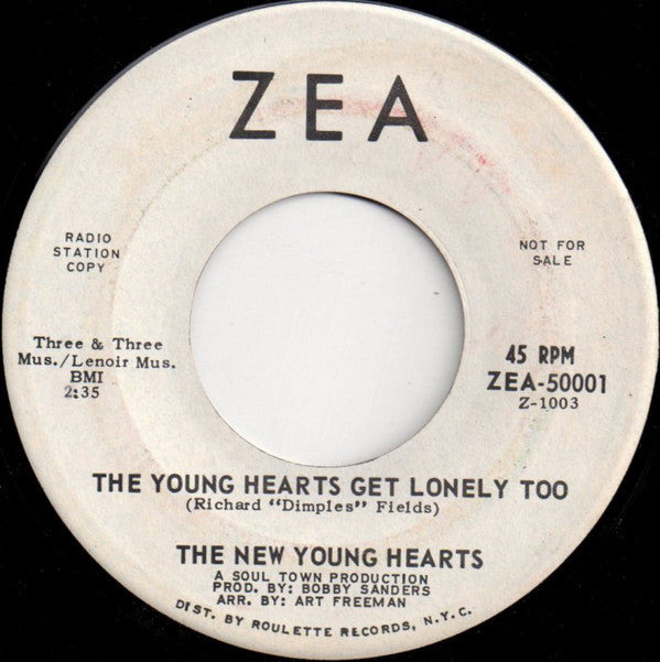 The Young Hearts Get Lonely Too 7""