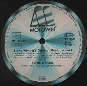 Stevie Wonder's Original Musiquarium 1 (1st, German)