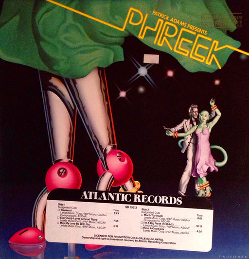 Patrick Adams Presents Phreek (1st, US Press)
