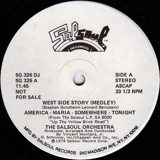 West Side Story (Medley) / Magic Bird Of Fire