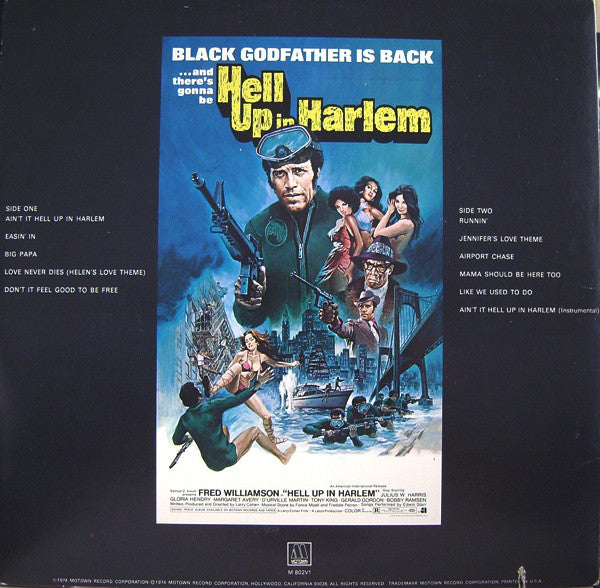 Hell Up In Harlem (1st, US Press)