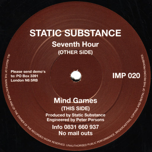 Seventh Hour / Mind Games