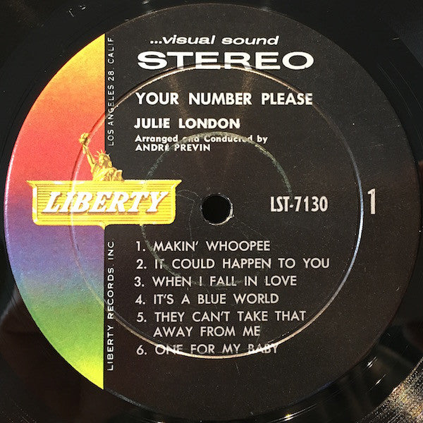 Your Number Please (1960 RP)