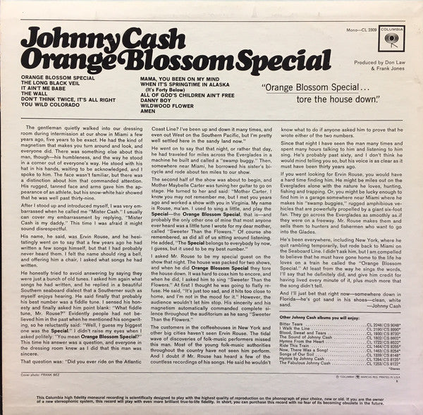 Orange Blossom Special (1965 MONO)
