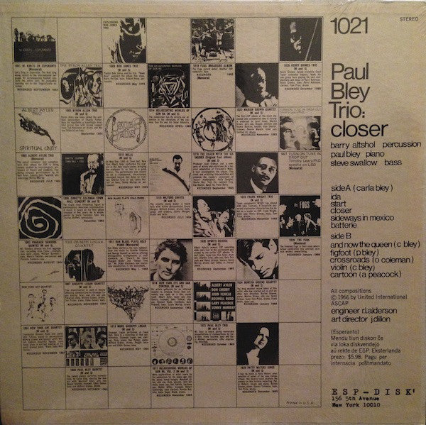 Closer (1966, US Press)