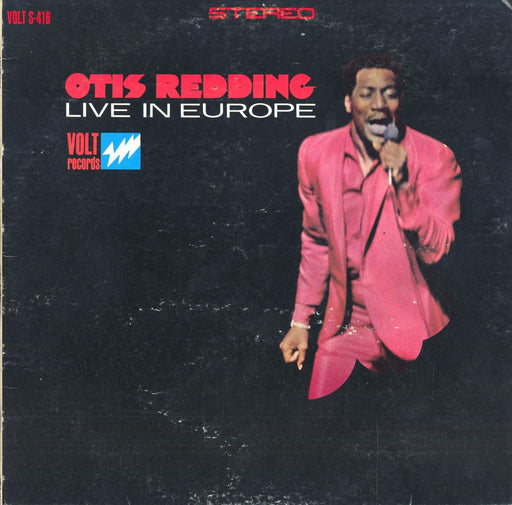 Otis Redding Live In Europe (1st, US Press)