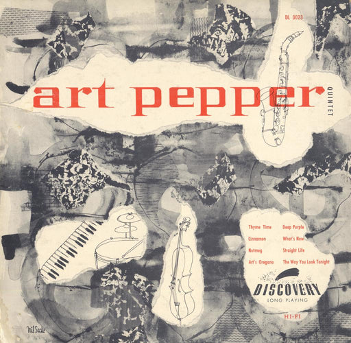 Art Pepper Quintet 10""