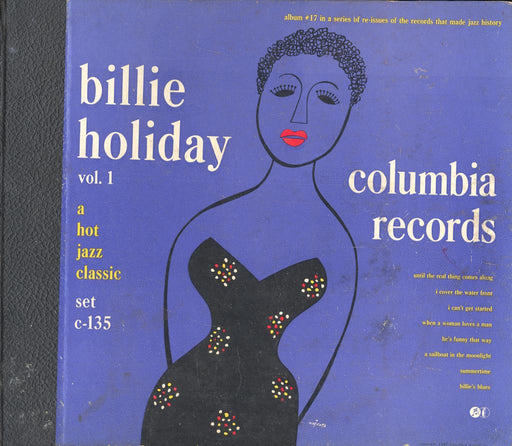 Billie Holiday Vol. 1 78 RPM Book