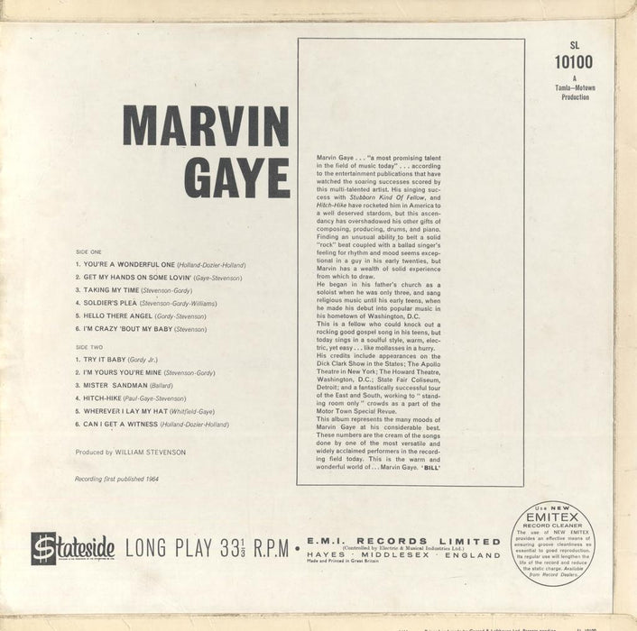 Marvin Gaye (1st, UK Press)
