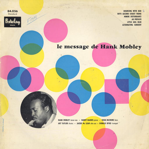 Le Message De Hank Mobley (1st, French)