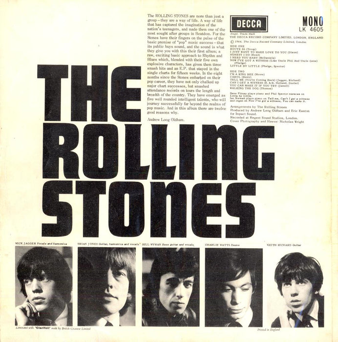 The Rolling Stones (UK Press)