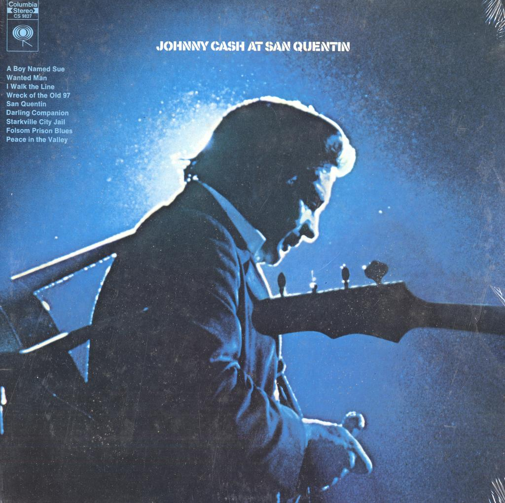 Johnny Cash At San Quentin (1st, SEALED)