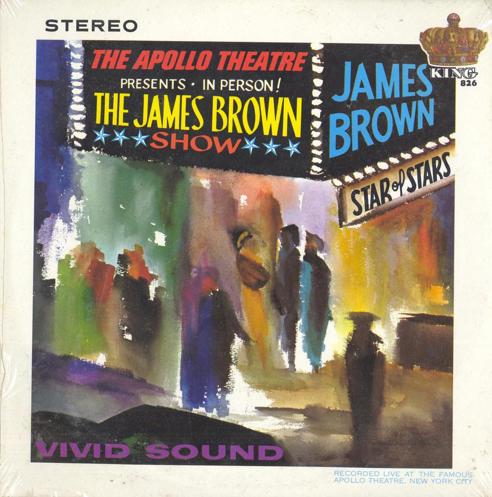 James Brown Live At The Apollo (SEALED) (STEREO)