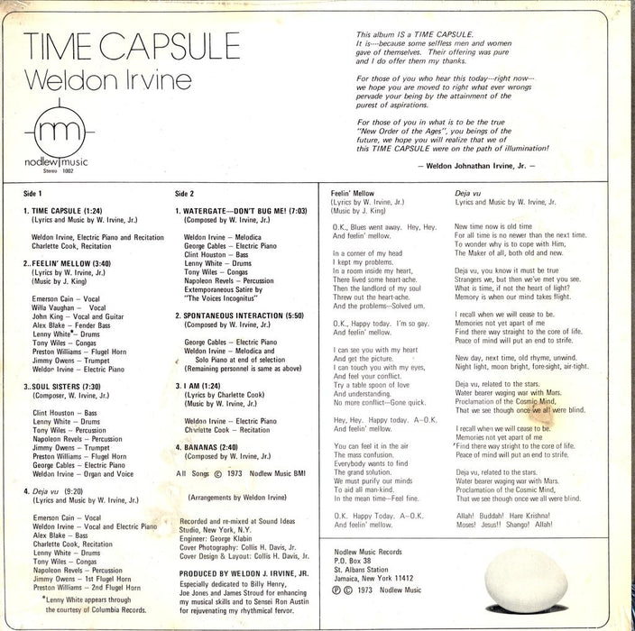 Time Capsule (1st, SEALED)