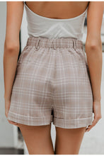 Load image into Gallery viewer, Plaid Suit Shorts