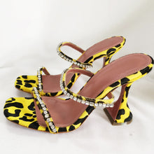 Load image into Gallery viewer, Golden Leopard Mules