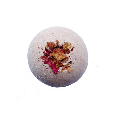 Lemon Rose CBD Bath Bomb Fizzy