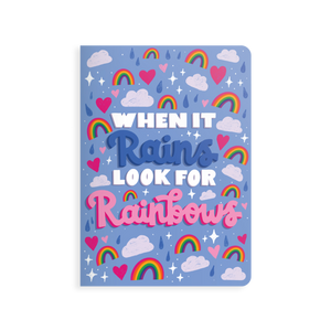 Jot-It! Notebook - Look for Rainbows