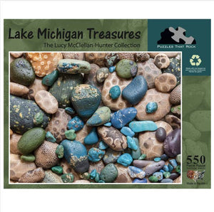 Lake Michigan Treasures Puzzle