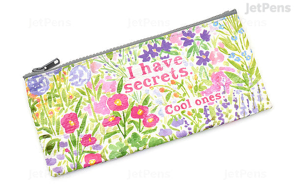 I Have Secrets Pencil Pouch