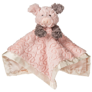 Putty Nursery Piglet Character Blanket – 13×13″