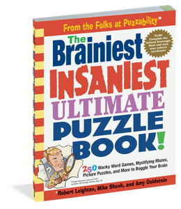 Brainiest, Insaniest Puzzle Book