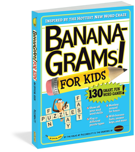 Bananagrams for Kids Book