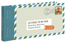 Letters to My Dad Time Capsule Hardcover Book