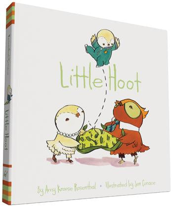 Little Hoot Board Book