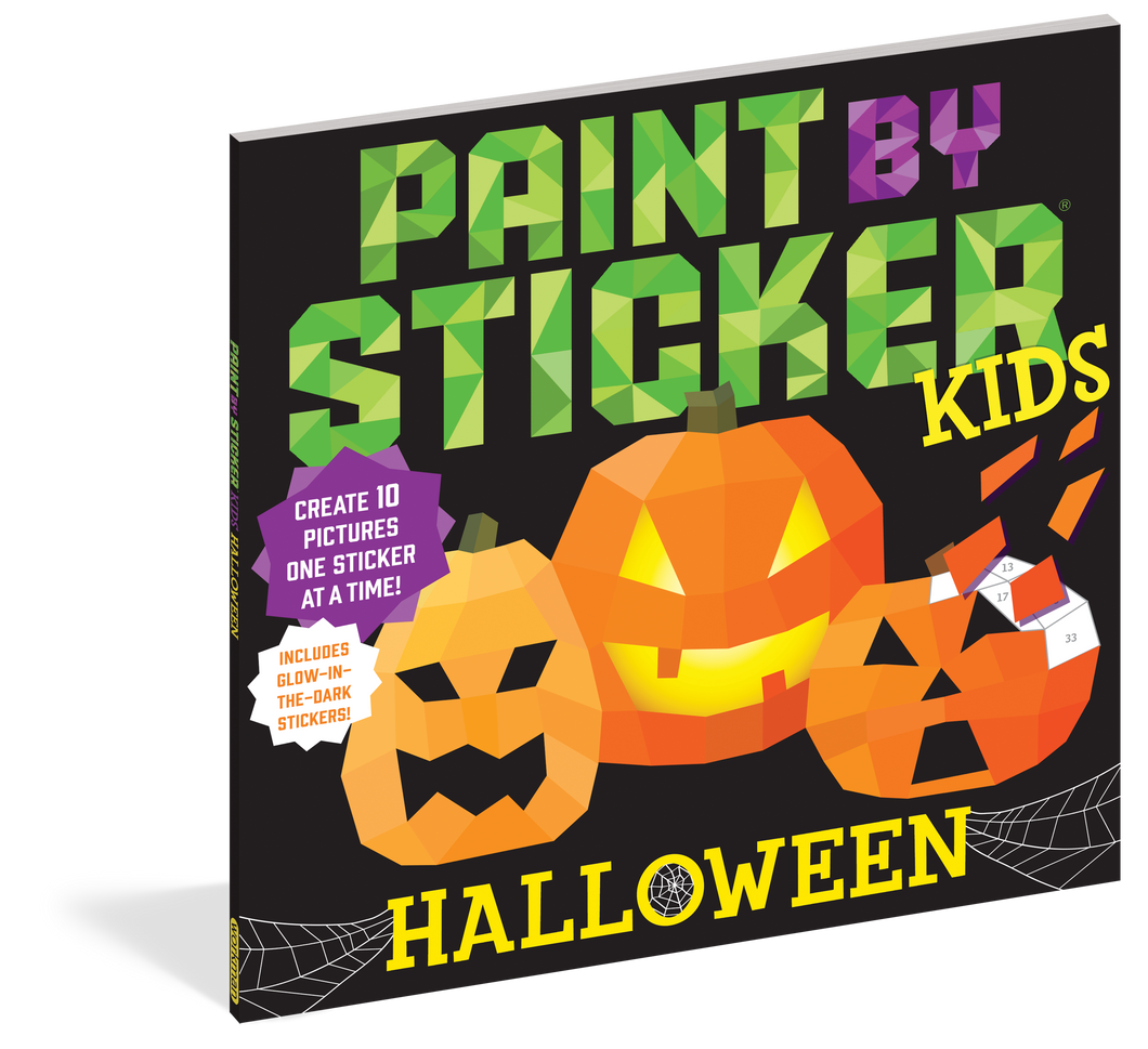 Paint by Stickers Kids: Halloween