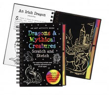 Scratch and Sketch Dragons and Mythical Creatures