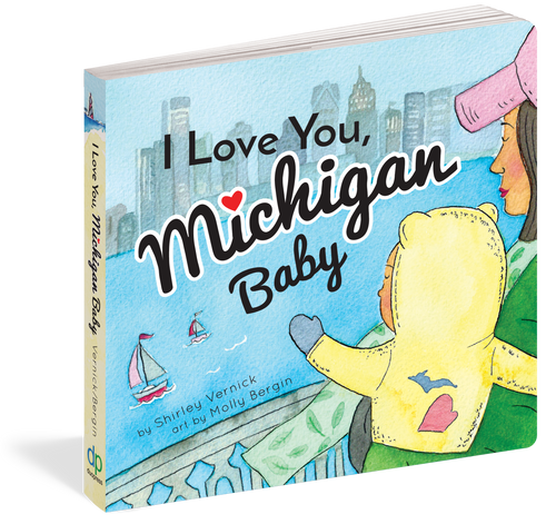 I Love You, Michigan Baby Board Book