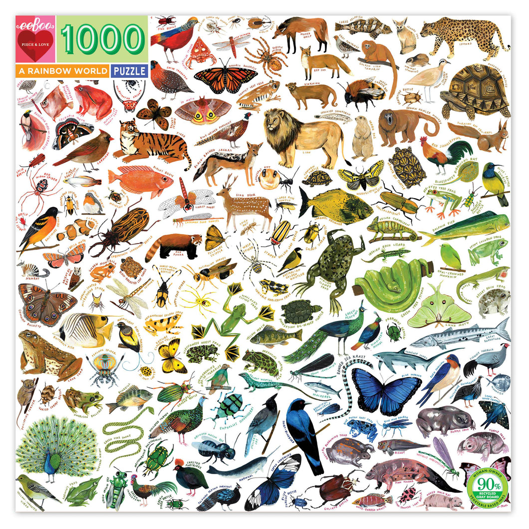 A Rainbow World 1000 Puzzle