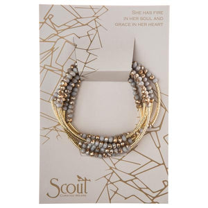 Scout Wrap Silver Lining with Gold