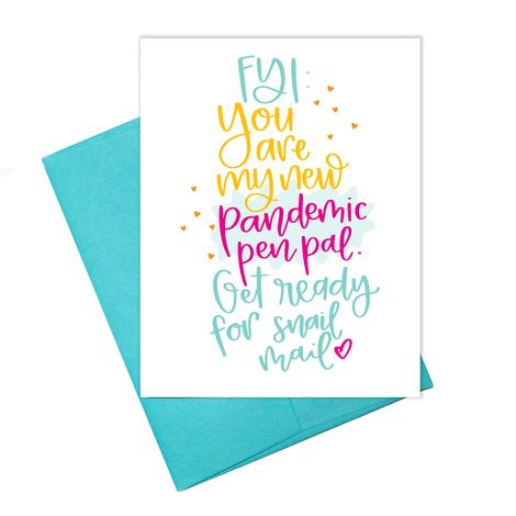 Pandemic Pen Pal Greeting Card