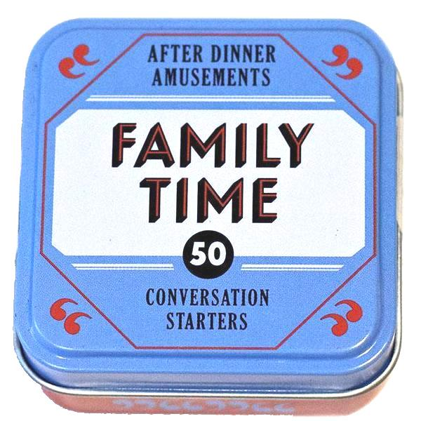 After Dinner Amusements: Family Time
