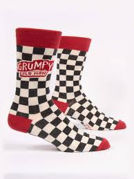 Grumpy Old Man Men's Crew Socks