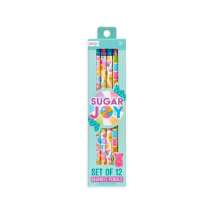 Sugar Joy Graphite Pencils - Set of 12