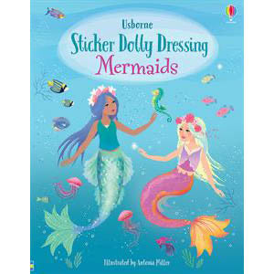 Sticker Dolly Dressing Mermaids