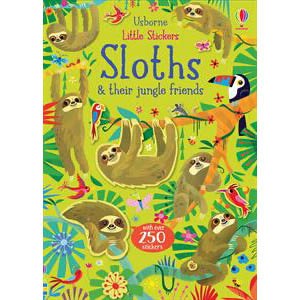 Little Stickers Sloths & Their Jungle Friends