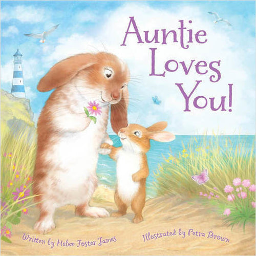 Auntie Love You! Hardcover Book