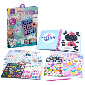Craft-tastic All About Me Scratch & Sticker Journal