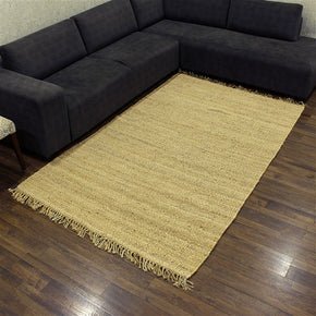 Craftter 3 X 5 Handmade Feet Natural Color Jute Area Rugs