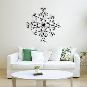 Craftter Simple and Beautiful Black Color Decorative Wall Art Hanging Sculpture