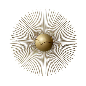 Craftter Metal Décor Accent (Golden_75 Cm)