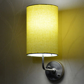 Craftter Yellow Color Round Wall Lamp (CRWL-48, Yellow)