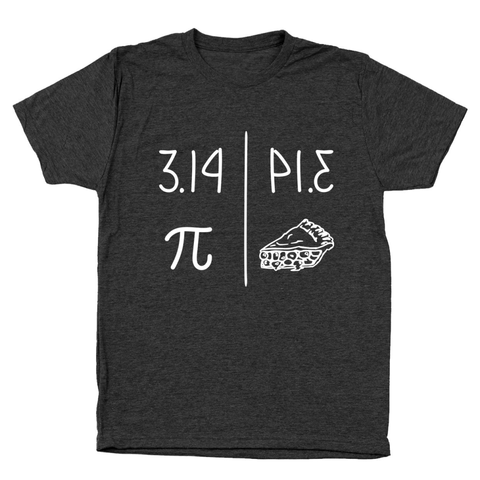 3.14 Pie Day 314 Men's Tri-Blend T-Shirt