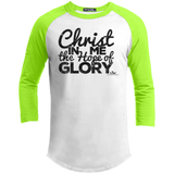 CHRIST IN ME THE HOPE OF GLORY Youth Sporty T-Shirt