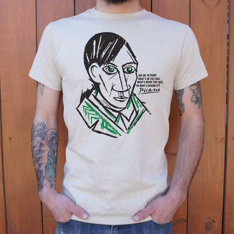 Pablo Picasso Quote T-Shirt (Mens)