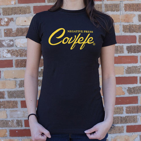 Negative Press Covfefe T-Shirt (Ladies)